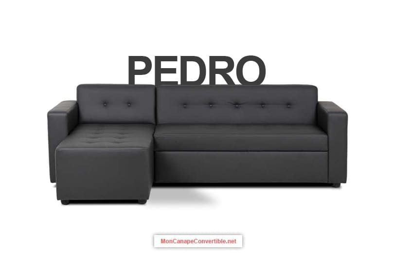 Canape D Angle Convertible Pedro De Conforama Canape Angle