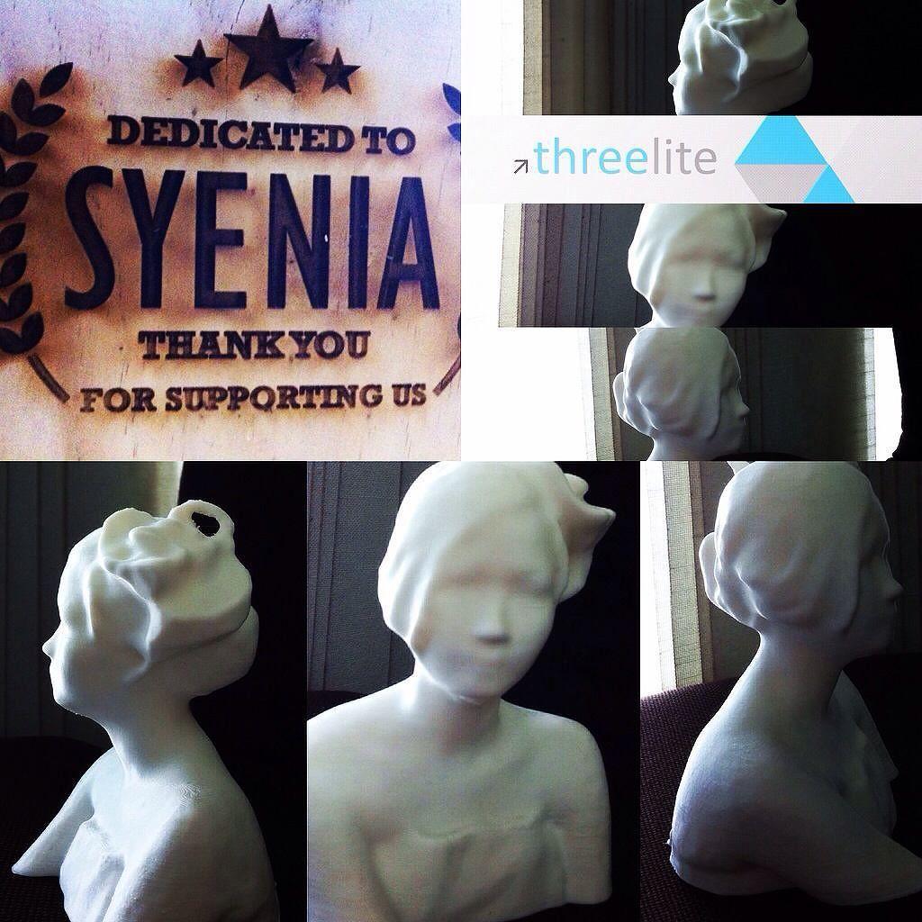 #repost....@3liteindonesia  #3dprinting @syeniaagatha . . #art #design #3dprintingbandung #localbrand #bandungjuara #fashion by teddysetiapermadi