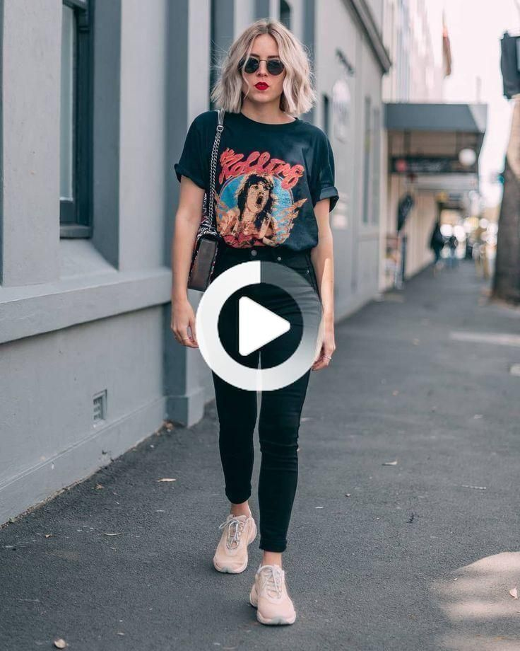 Graphic Tee Outfit Street Style