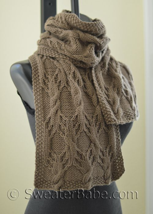 216 Sprangle Pdf Knitting Pattern Cashmere Cable And Scarves