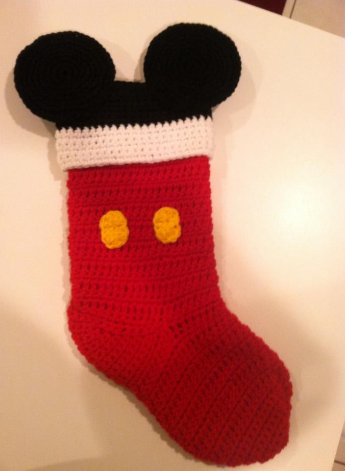 Mickey Mouse Christmas Stocking | Pinterest | Baby geschenke ...