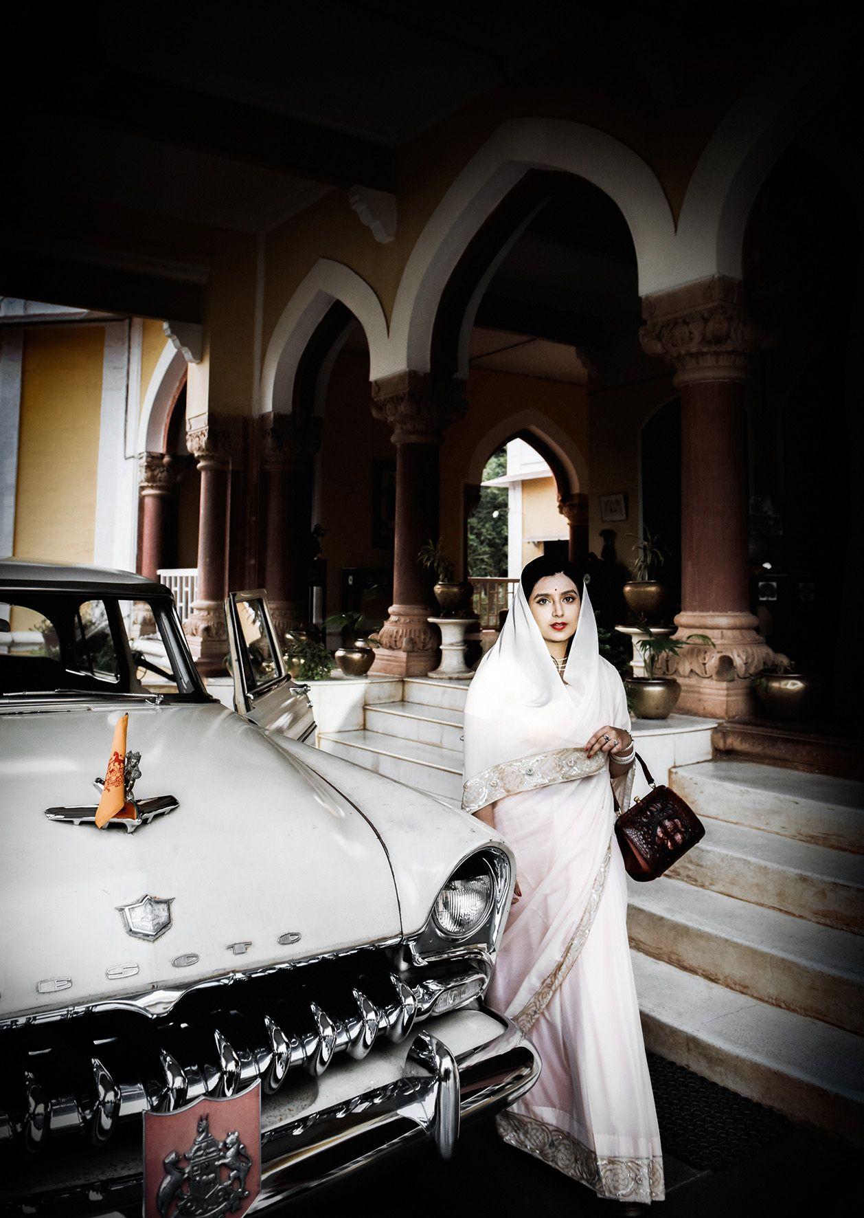 Photo of Vanity Fair Italia feature on Karauli Royal family