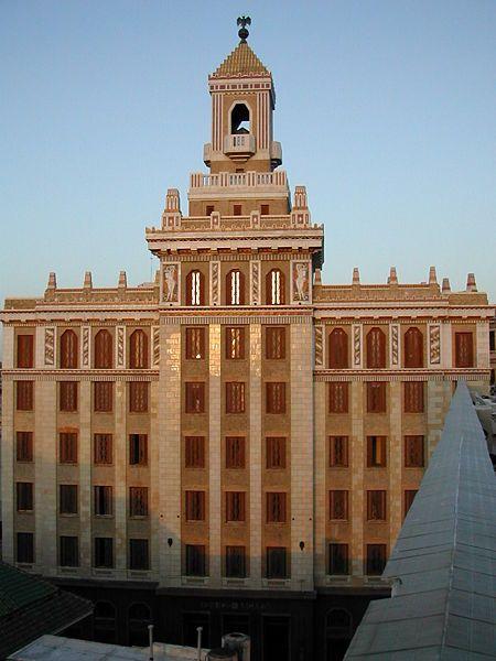 The Bacardi Building in Havana is located at Avenida de Bélgica No. 261 between Empedrado y San Juan de Dios, in Old Havana