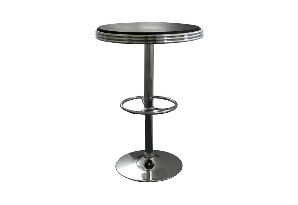 Soda Style Adjustable Bar Table #bartable #adjustable #stylish #roundtable #perfectgift