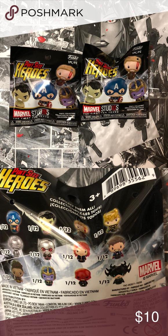 Marvel Studios First Ten Years Pint Size Heroes Mystery Mini-Figure Cap America