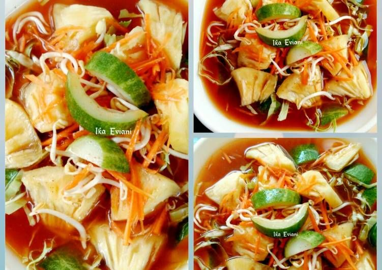 Resep Asinan Sayur Oleh Ika Eviani Resep Resep Resep Masakan Sayuran