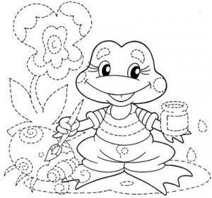 Dibujos Infantiles Para Puntear Trazar Y Dibujar Cuadernos De Dibujo Para Ninos Hojas De Ejercicios Para Ninos Actividades Graficas