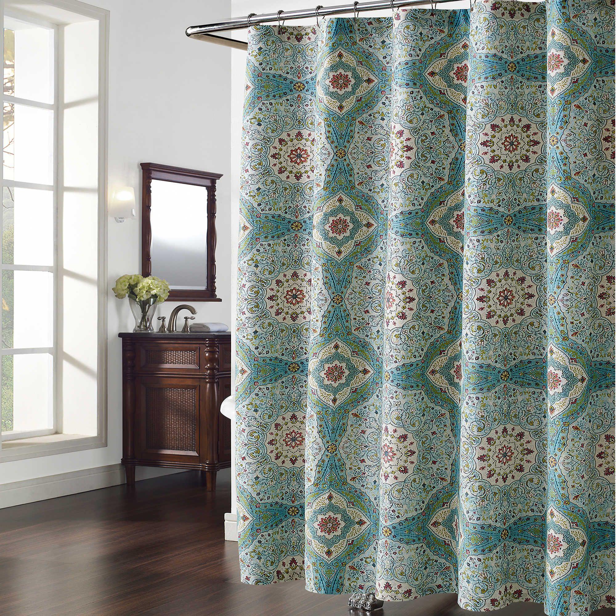 $24.99 Bed Bath & Beyond Mandala Shower Curtain | Bathroom Remodel ...