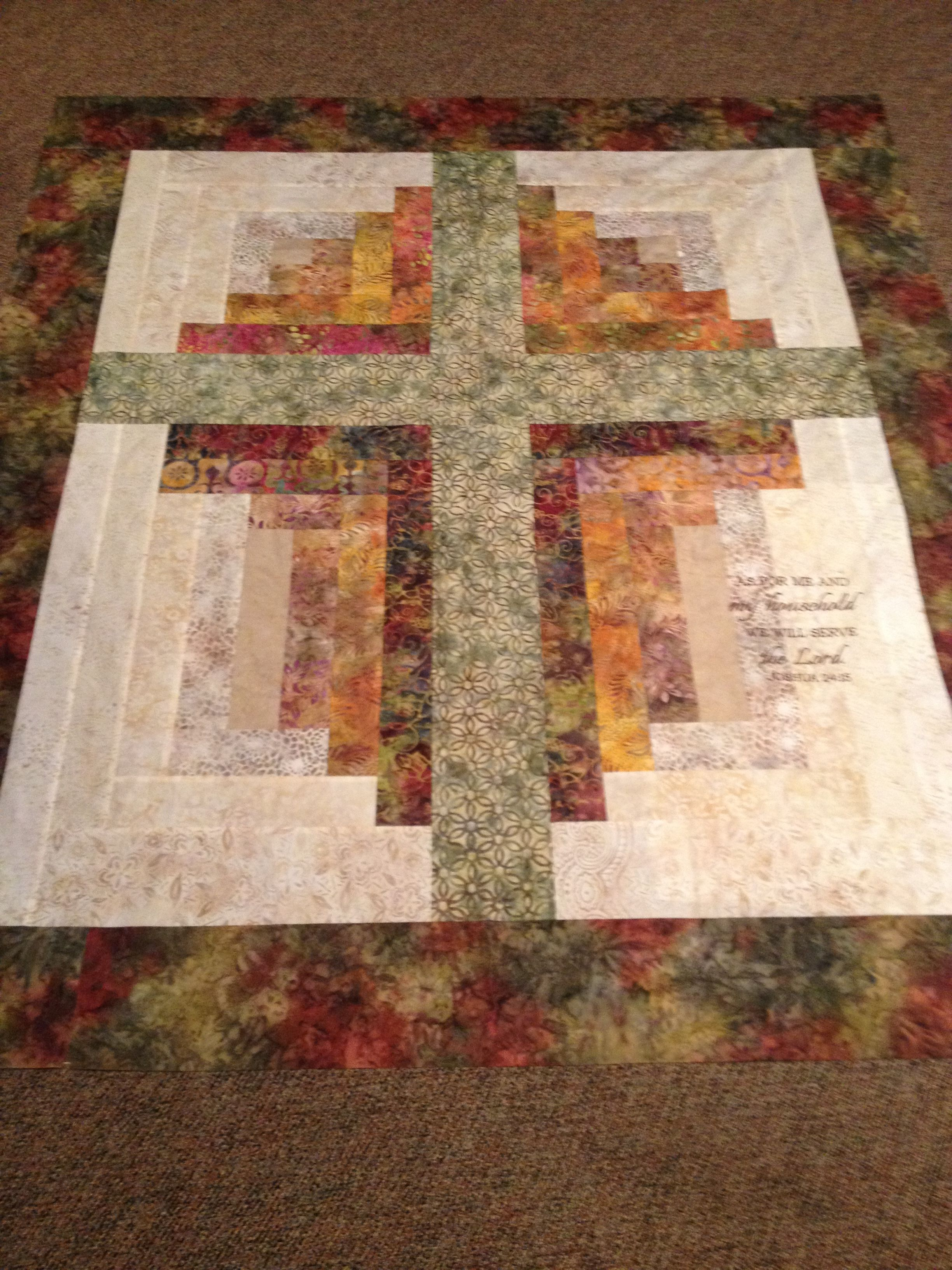 Pin By Terrie Powell On Quilts Cross Quilt Quilts