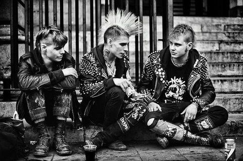 From Low Culture To High Art The Punk Rock Uniform