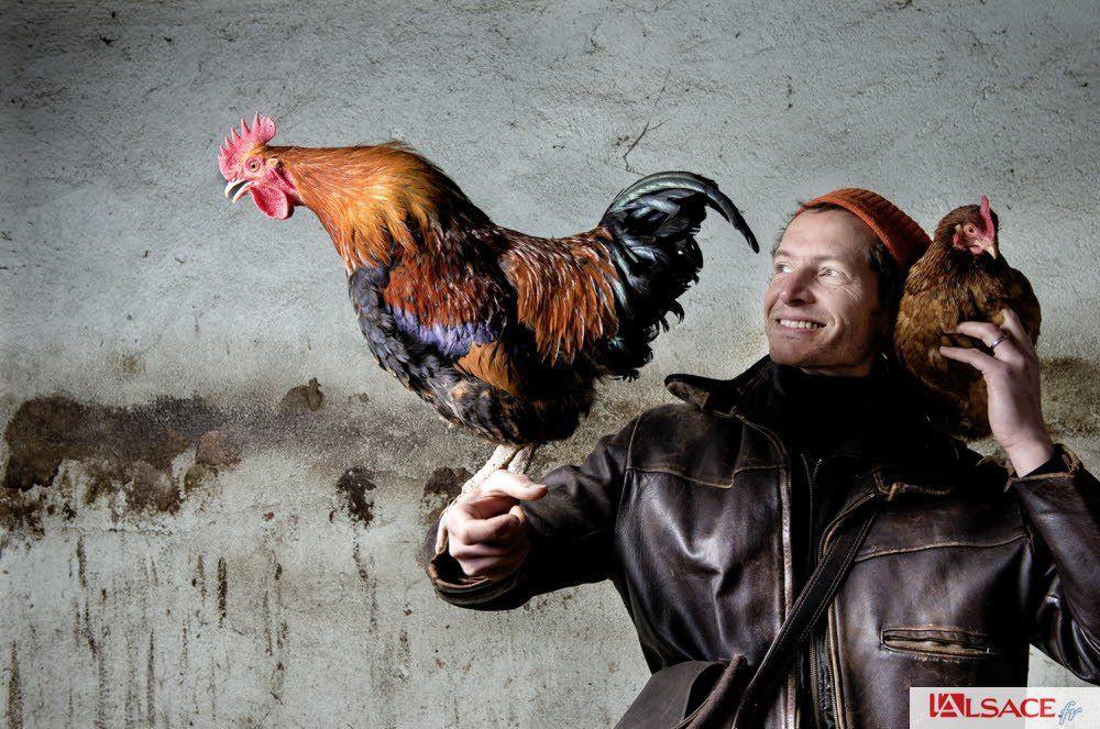 Alsace | Christian Heinrich, l'homme qui a fait du rire le propre de la poule