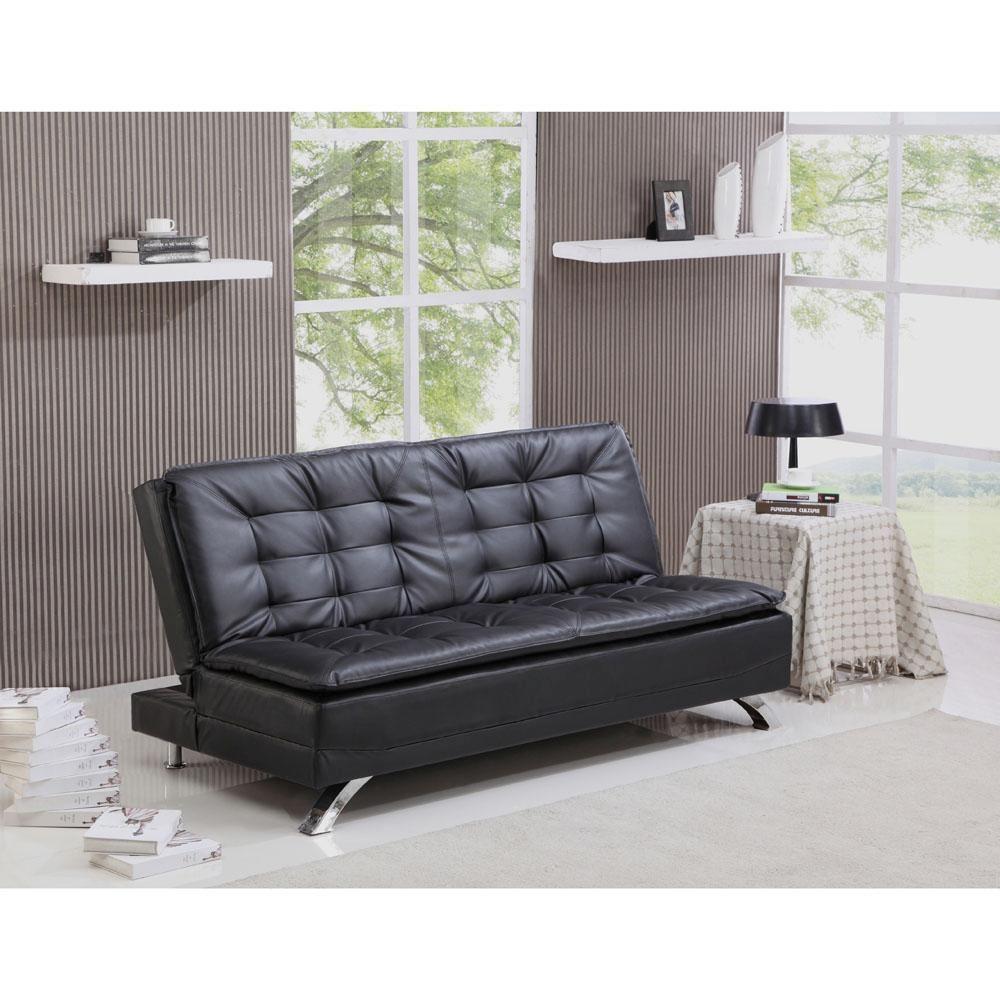 Chaise Lounge Sofa Sofa Cama Importado Montreal em PU ShopF cil