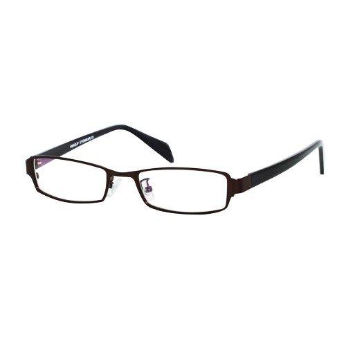 2a677c9c642 Ebe Bifocal Unisex Brown Rectangle Full Rim Regular Hinge Reading Glasses
