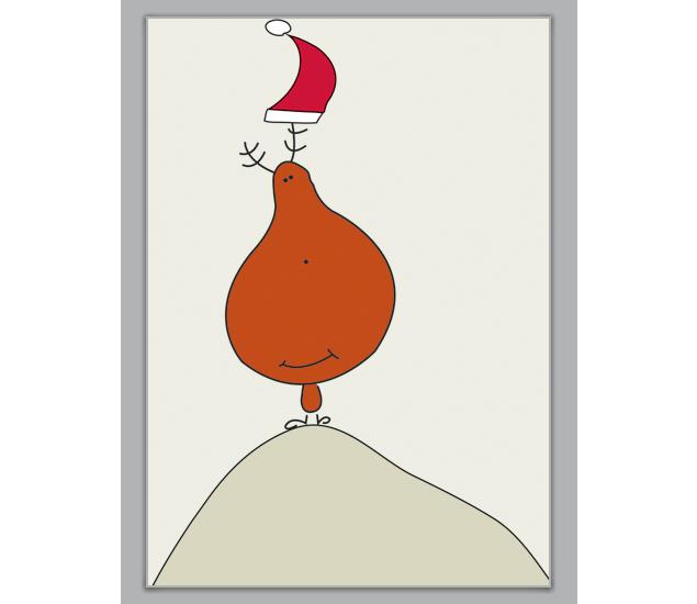 stolzer Weihnachts Elch auf Berg - http://www.1agrusskarten.de/shop/stolzer-weihnachts-elch-auf-berg/    00012_0_1623, 24.12., Christfest, Comic, Elch, Grußkarte, Helga Bühler, Klappkarte, Nikolaus, weihnachtlich, Weihnachtsfest, Weihnachtskarten, Xmas00012_0_1623, 24.12., Christfest, Comic, Elch, Grußkarte, Helga Bühler, Klappkarte, Nikolaus, weihnachtlich, Weihnachtsfest, Weihnachtskarten, Xmas