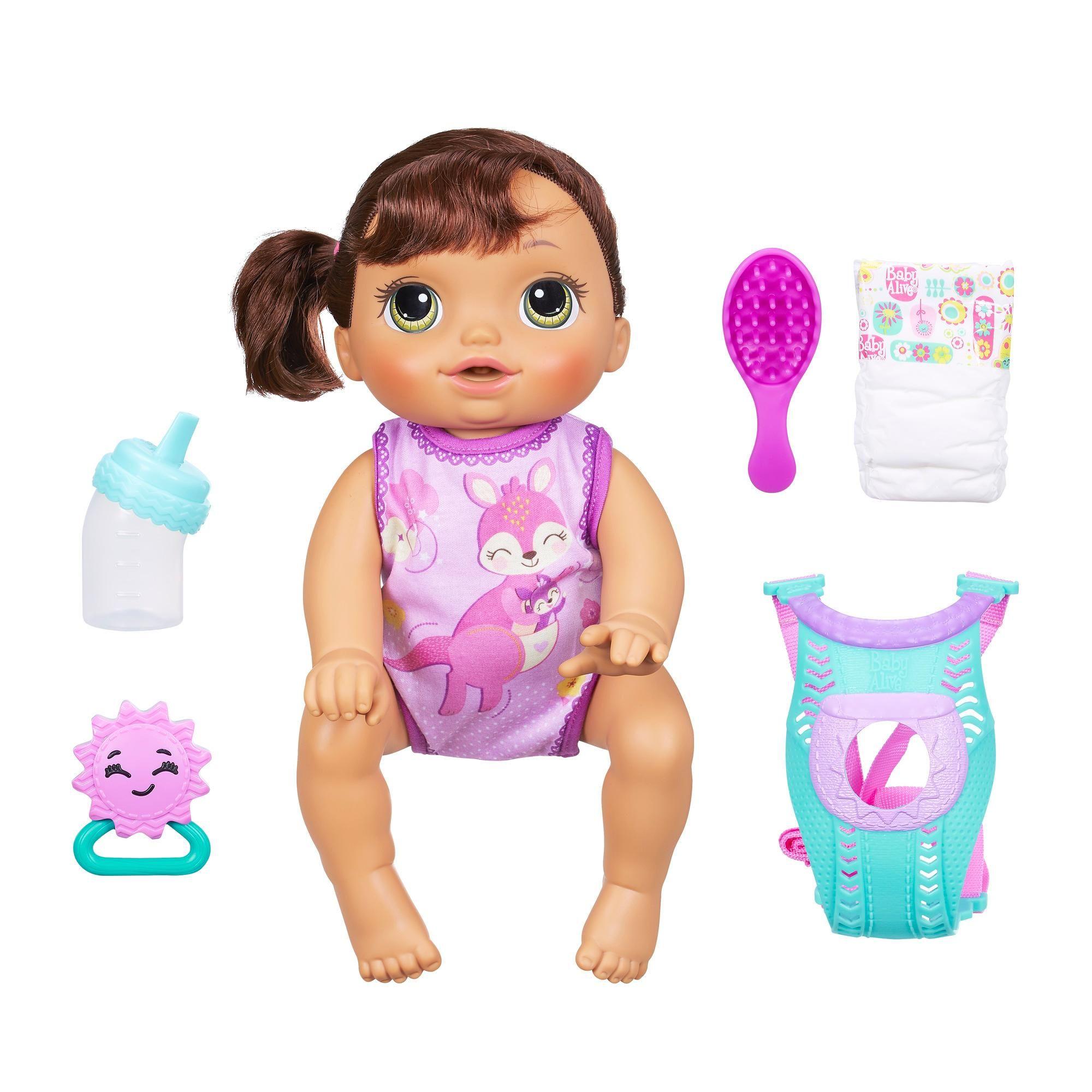 Baby Alive Baby Go Bye Bye Brunette Toys For Girls Baby Alive Baby Alive Baby Alive Dolls Baby Doll Nursery