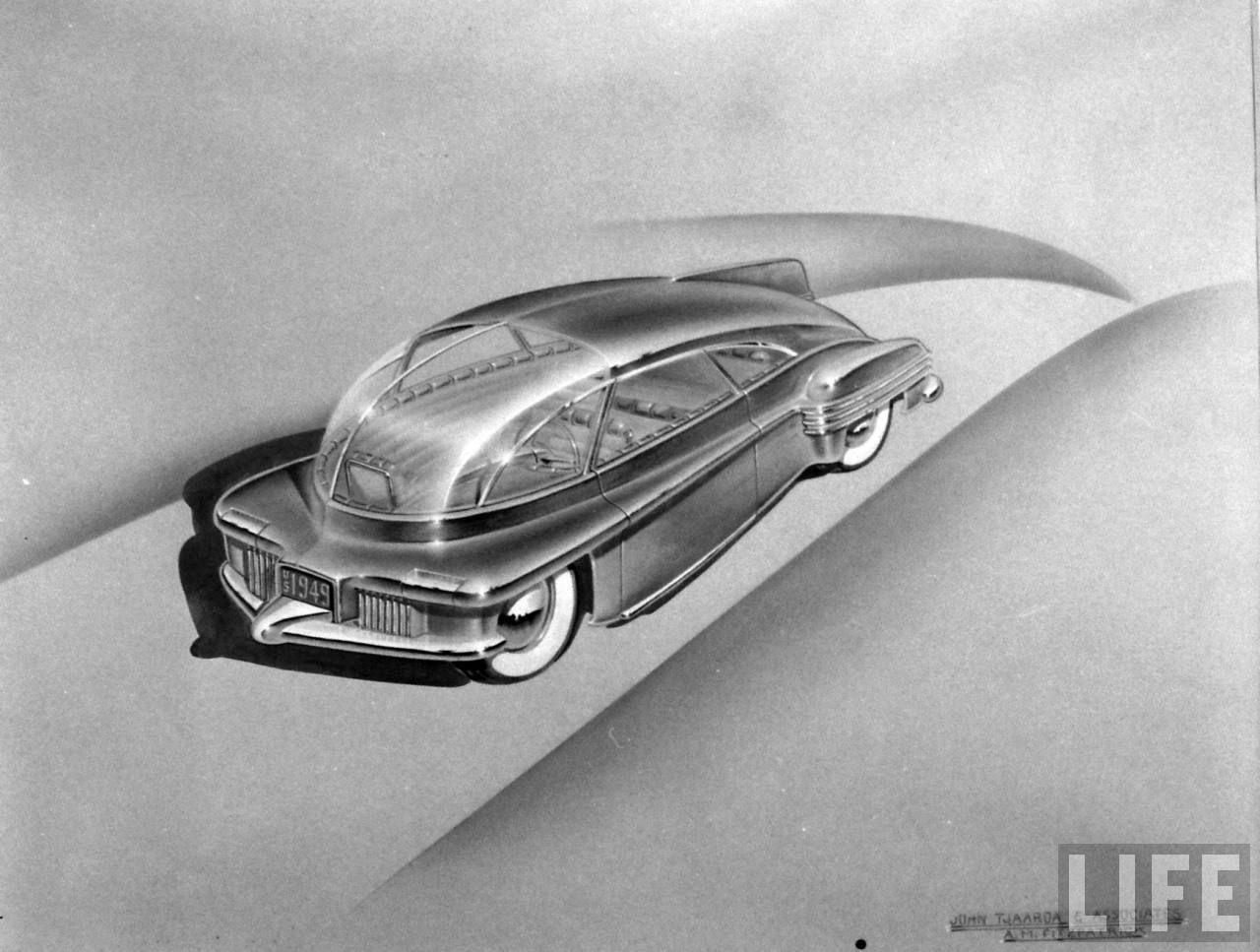 Designed by John Tjaarda & Associates Tom Tjaarda