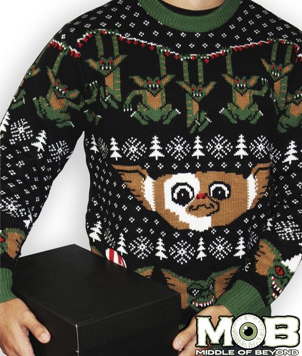 Gremlins Sweater Christmassnow Christmas Sweaters Sweaters