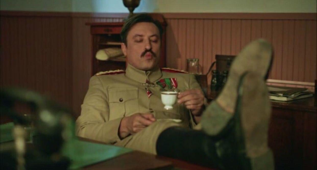 Miralay Tevfik Onur Saylak Leonidas Character Mood