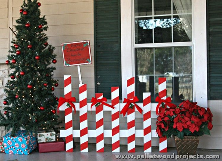 pallet christmas decorations