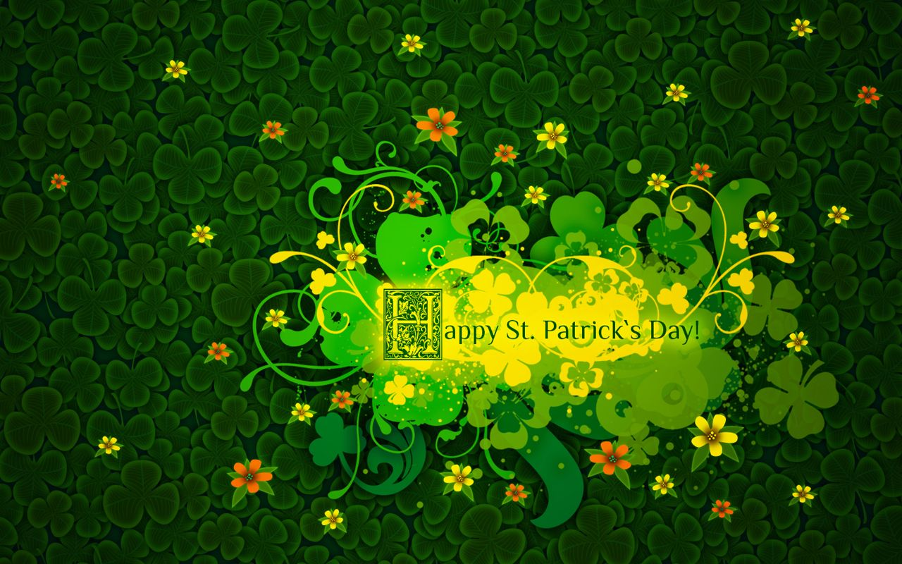 free saint patricks day clipart wallpaper screensaver 2016 st