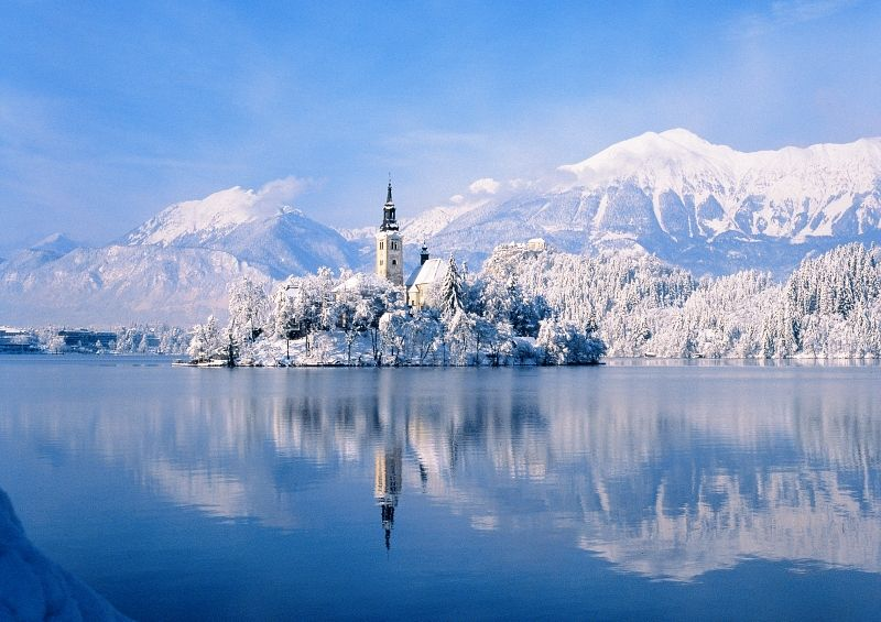 Bled Slovenia In The Winter Lake Bled Life Is An
