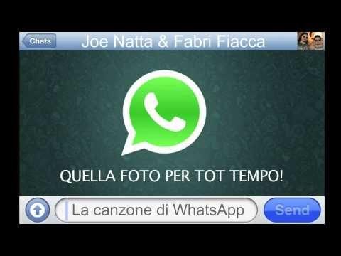 THE SONG OF WHATSAPP (by Joe Natta & Fabri Fiacca) Video Ufficiale HD - YouTube