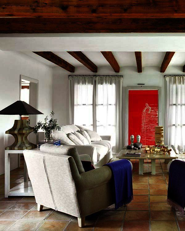 Una casa de campo en Mallorca Salón, Casa de Campo y De campo - salones de lujo