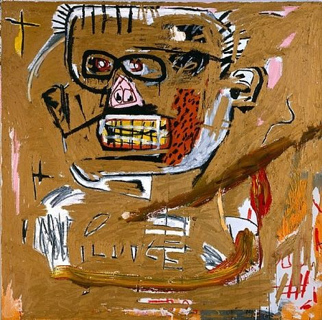 Jean-Michel Basquiat, Il Duce on ArtStack #jean-michel-basquiat #art
