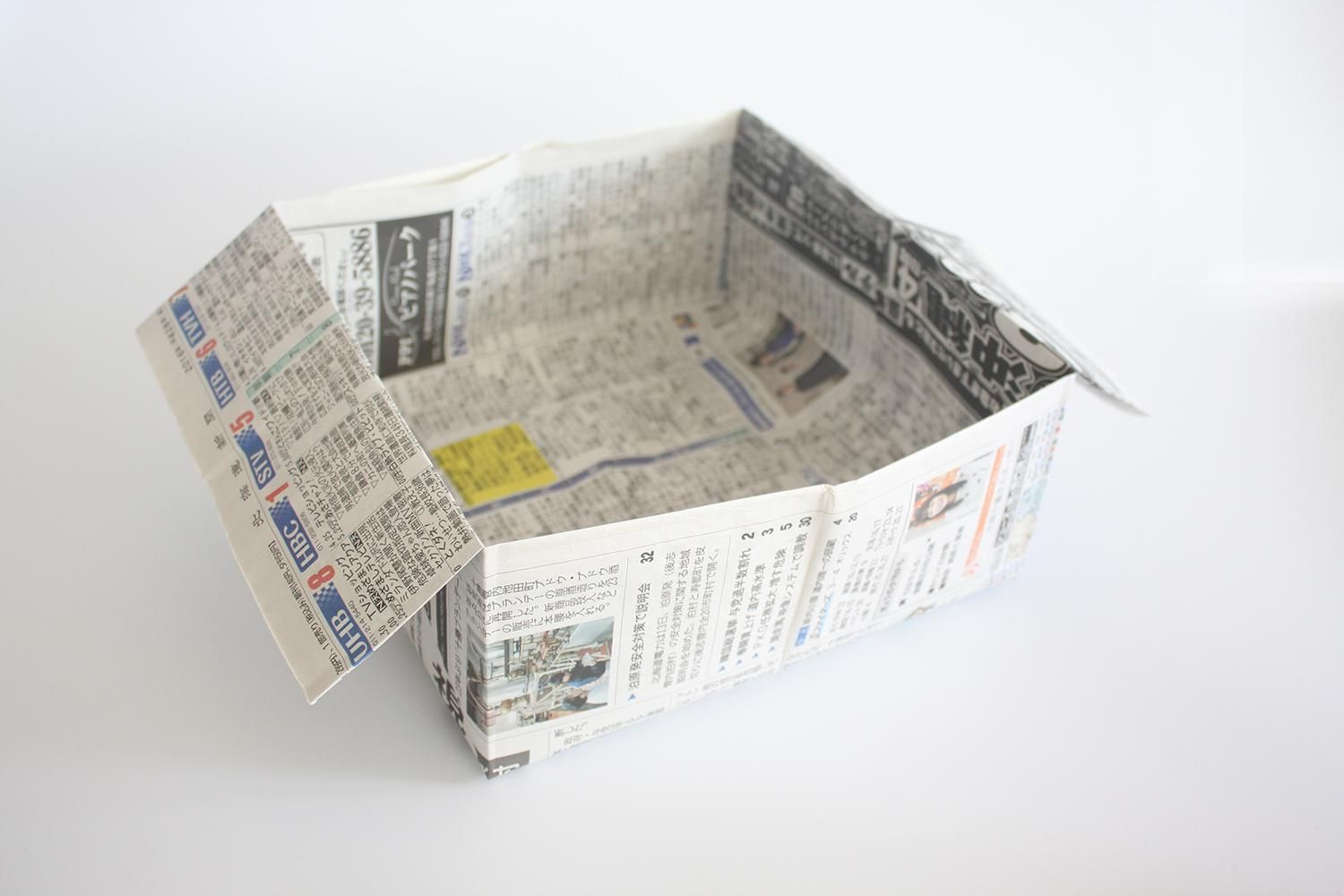 Photo of How to make an origami trash bin / garbage can | Paper Crafts Instructions and Diagram