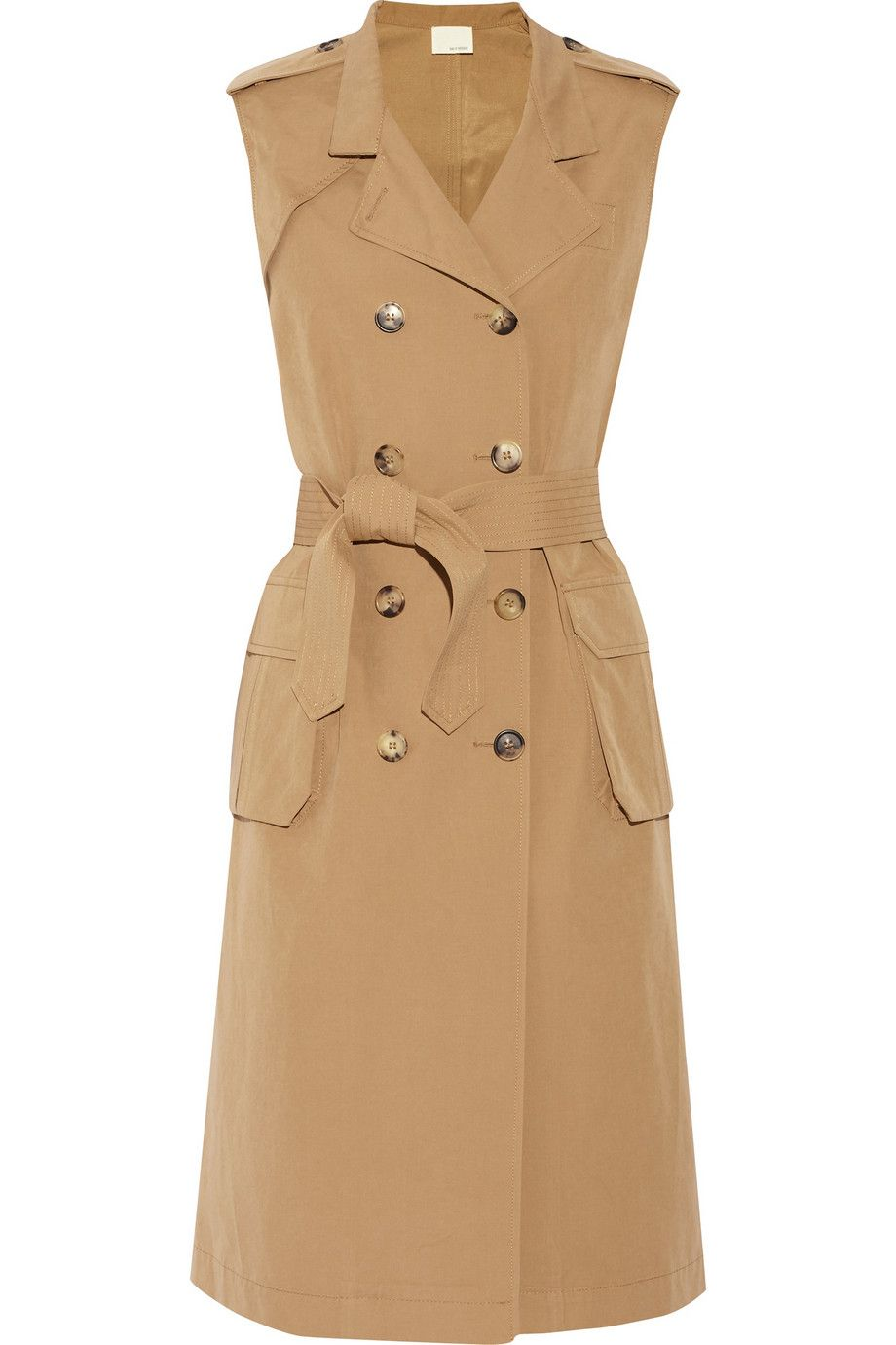 Image result for band of outsiders cotton blend trench coat