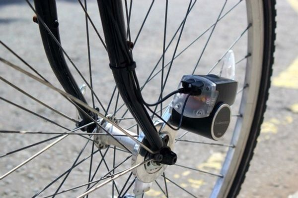 Pedal Powered USB Charger by BikeCharge