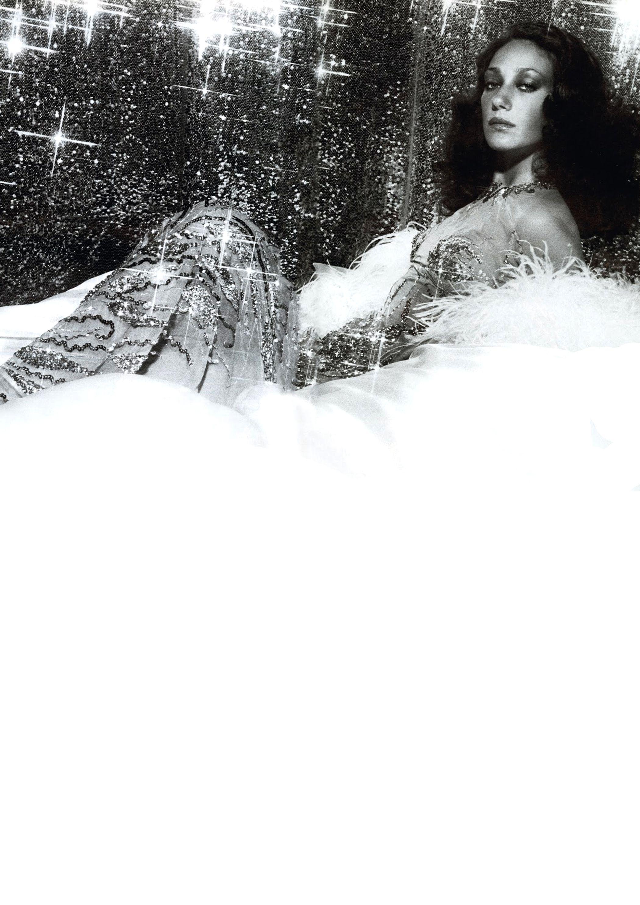 Marisa Berenson for Loris Azzaro by Tony Parker.