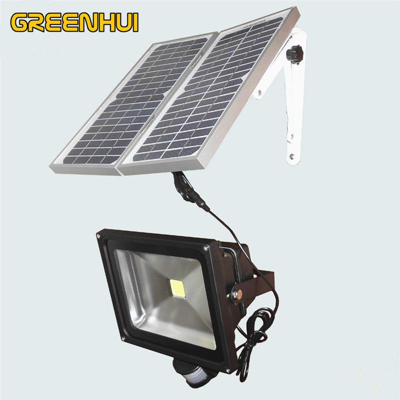 Solar lamps 50w cob chip led lights cool white light outdoor solar solar lamps 50w cob chip led lights cool white light outdoor solar led flood lights soar aloadofball Image collections