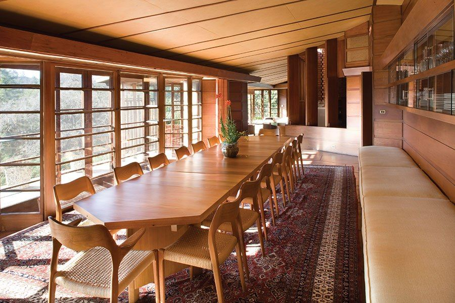 The Best of Frank Lloyd Wright\u0027s West Coast Projects Stanford