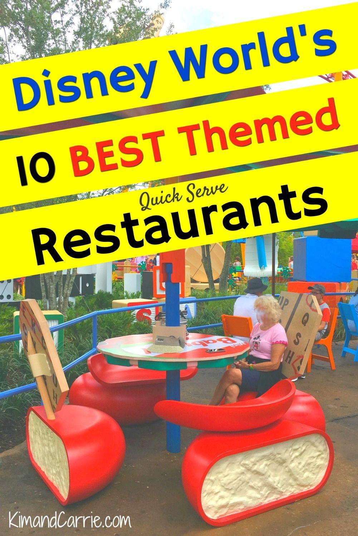 10 Best Fast Food Restaurants at Walt Disney World