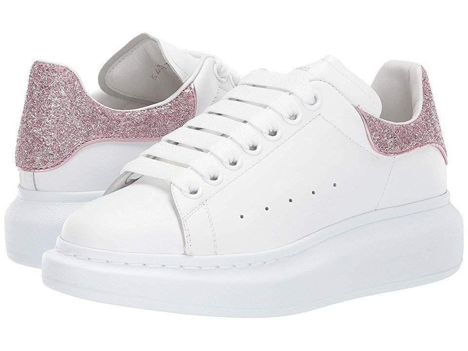 acortar Niños Gran engaño  Alexander McQueen Oversized Runner Sneakers Women's Shoes White/Multi |  Sneakers, Alexander mcqueen, Shoes