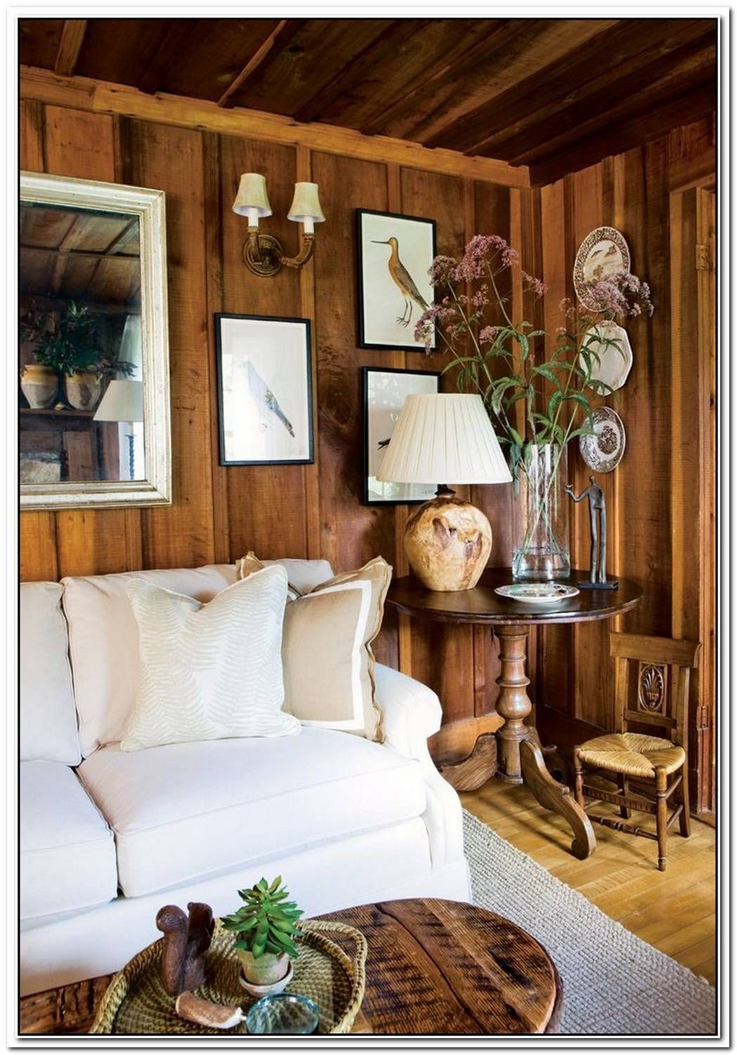 10 Cozy Ways To Decorate With Wood Wall Planks Wood Paneling Living Room Wood Paneling Decor Wood Panel Walls