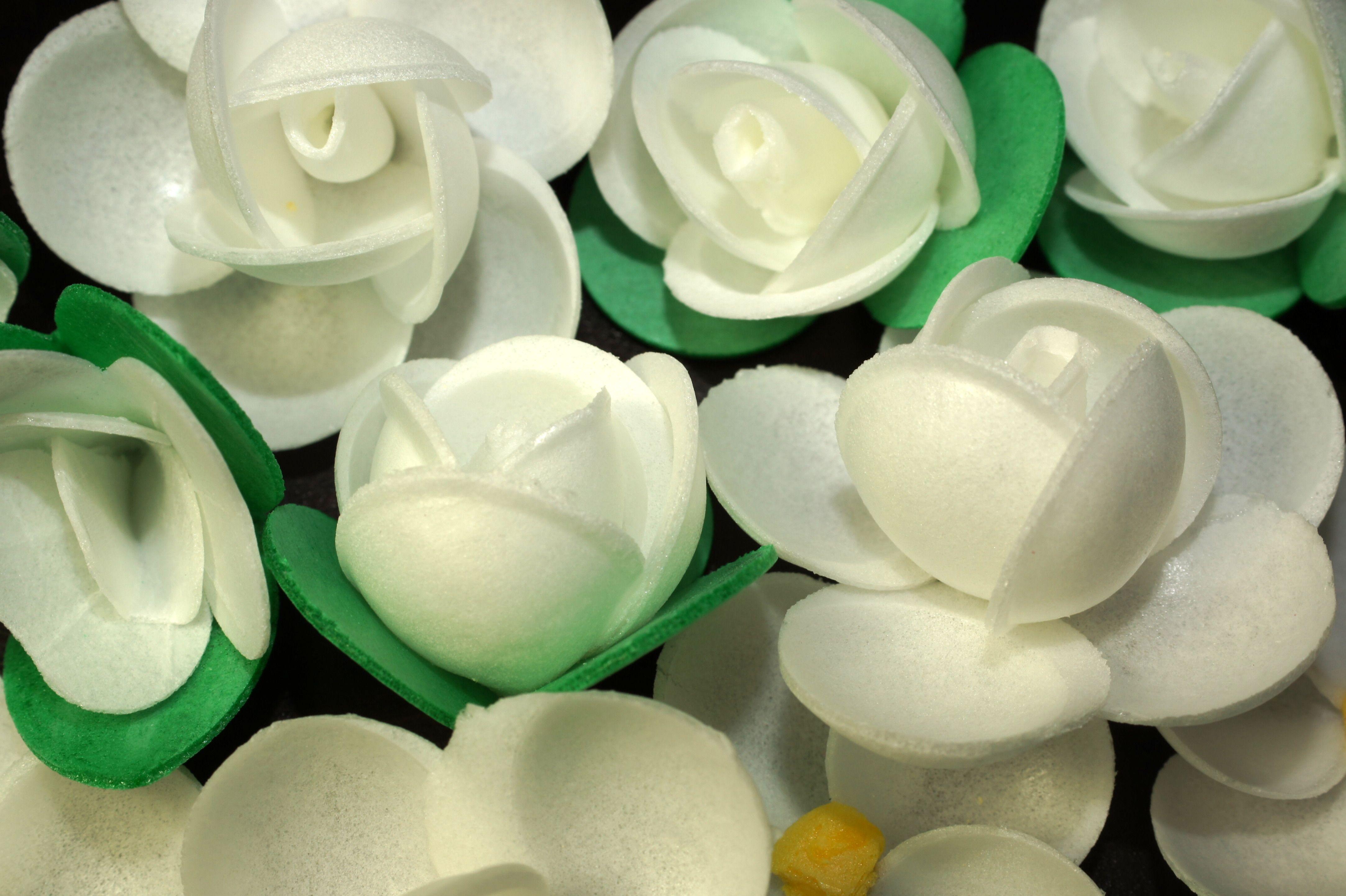 Ouwel bloemen perfect voor decoratie van taarten en cupcakes in