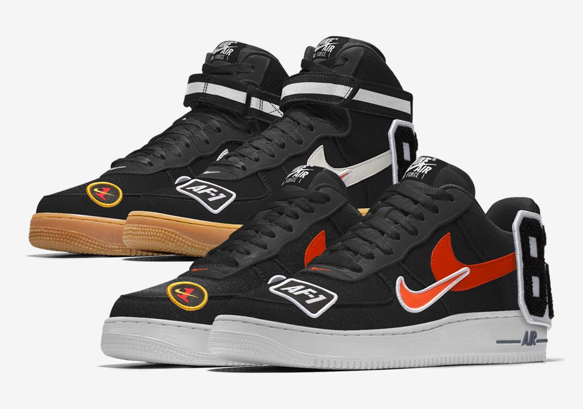 Nike Air Force 1 NIKEiD By You Patches