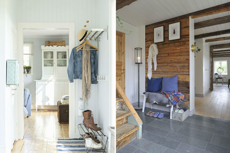 Dalani ingresso rinnovare in stile shabby con tocco - Arredare ingresso casa ...