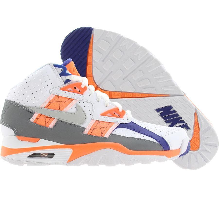 premium selection b429d 54e6d Nike Air Trainer SC High (white light zen grey total orange stealth ...