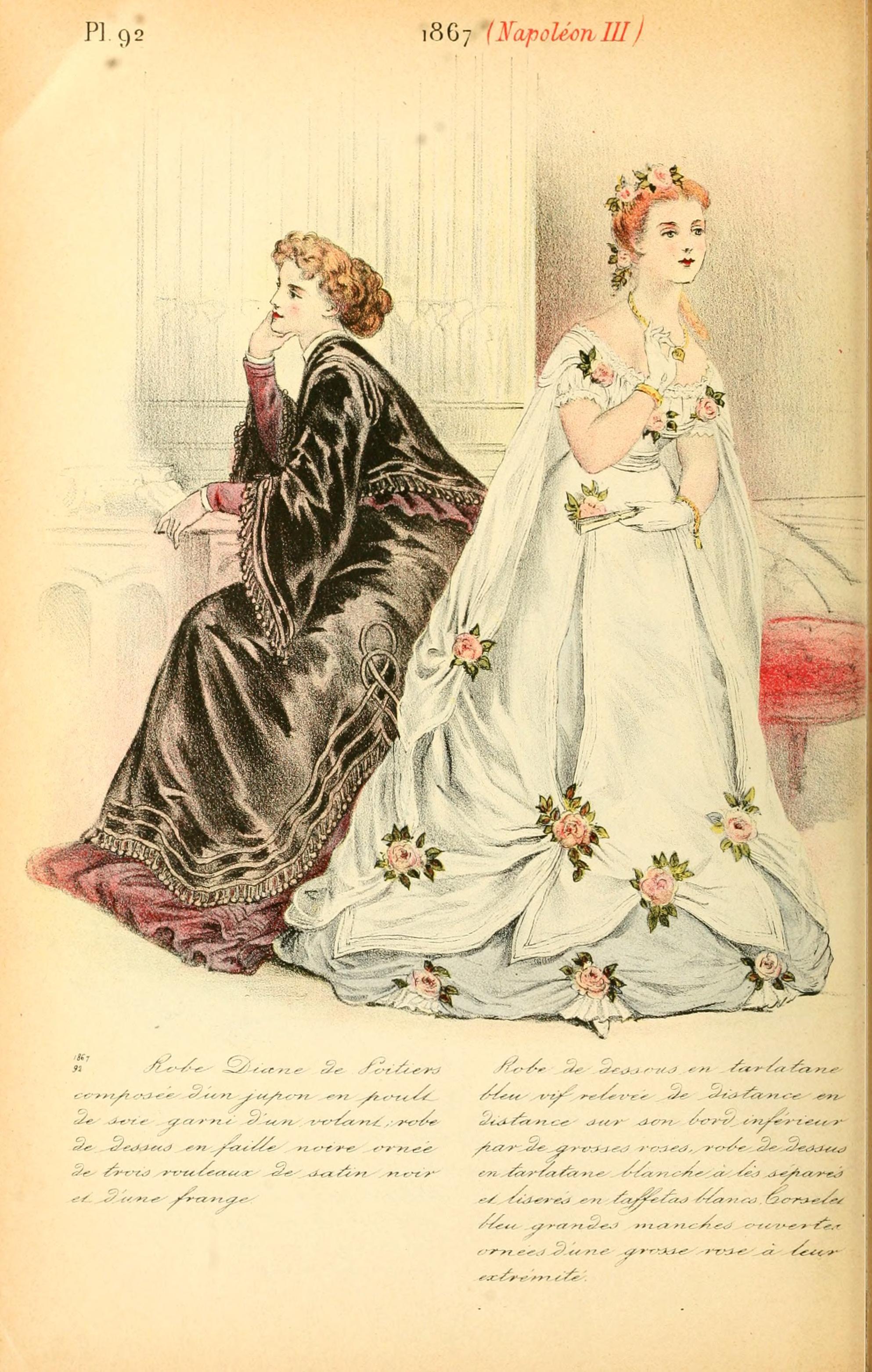 1867 La Mode Pendant Quarante Ans De 1830 A 1870 By Louis Colas Gravures De Mode Mode Photos Anciennes