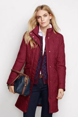 315937cbe4b Women s+Quilted+PrimaLoft+Coat+from+Lands +End