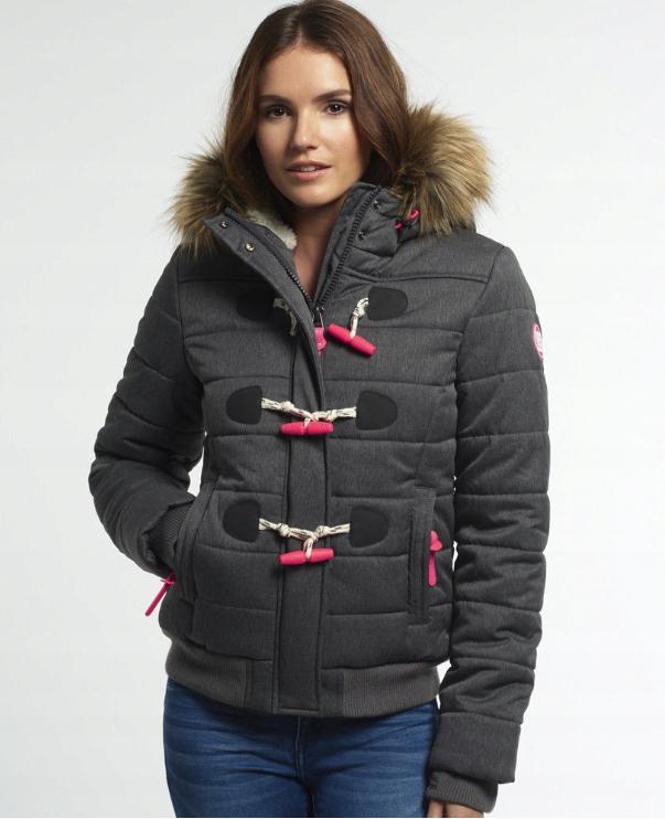 Kurtka Zimowa Ocieplona Superdry Marl R M 40 Coats Jackets Women Jackets Jackets For Women