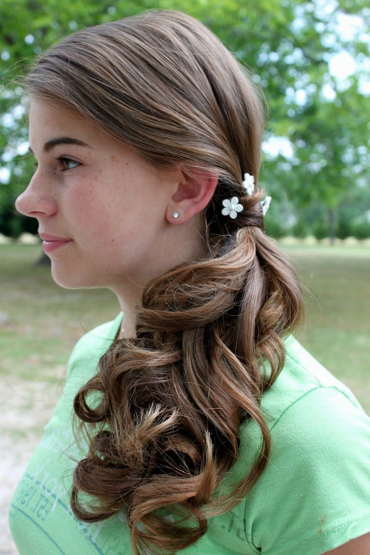 Side Ponytail Hairstyles For Wedding