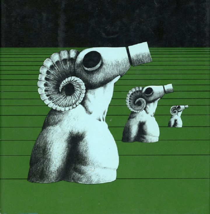 Cover design by Mark Rubin and Irving Freeman, for John Brunner's The Sheep Look Up