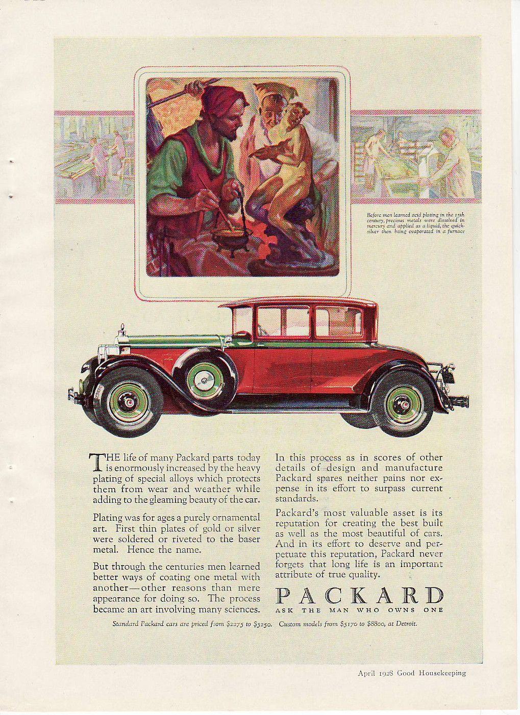 Vintage Deco Ad Packard Ask The Man Who Owns One (Image1) | Art Deco ...
