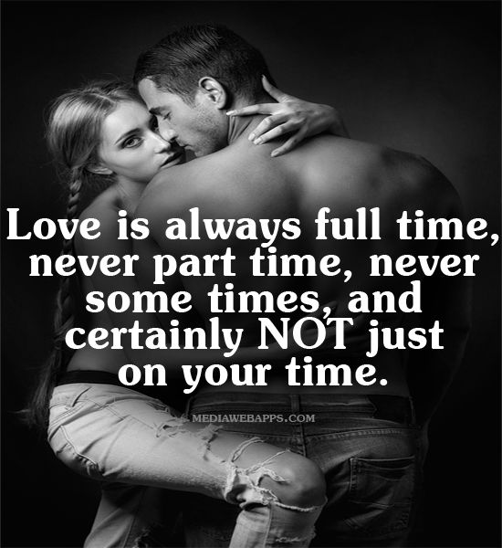 Timing of sex and love in a new relationship?