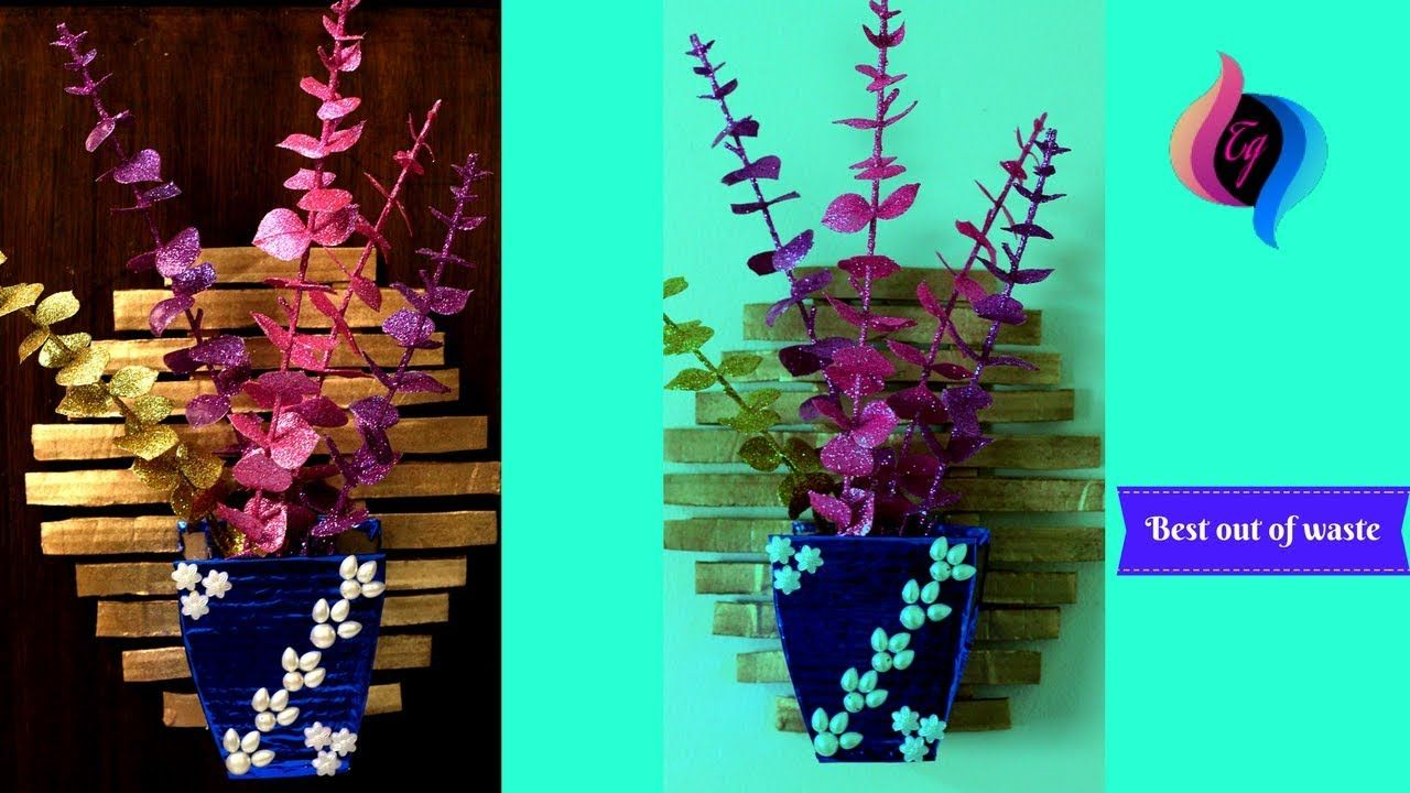 How To Make Flower Vase With Waste Things - How To Make Flower Vase Flower Vase By Waste Material on shelf material, sculpture material, flower material, teapot material, water material, rococo material, quilt material, bird material, blanket material, box material, brick material, carpet material, valentine material, glass material, painting material, tablecloth material, basket material, terracotta material, rope material, heart material,