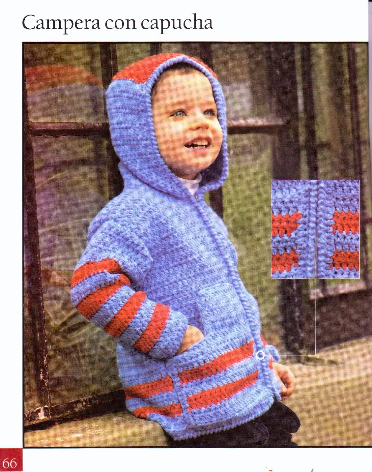 Niño Crochet Con Tejido Asgaya Para Patrones Capucha Chaqueta A ZngXHq0U